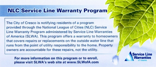NLC Service Line Warranty Program